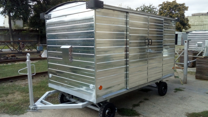 Телега багажная ТБМЗ-1500