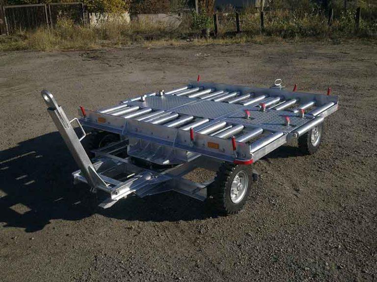 Тележка контейнерная ТКП-1500