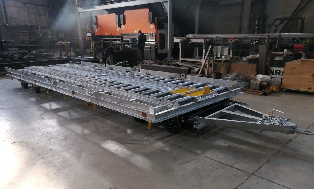 Телега контейнерно-паллетная ТКП-20